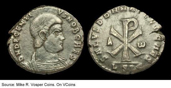Decentius' coins